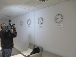 Zegary w Brukseli