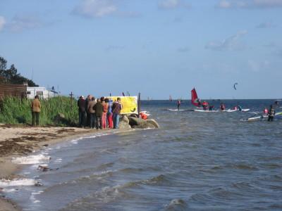 Brzeg Zatoki Puckiej nie dla każdego