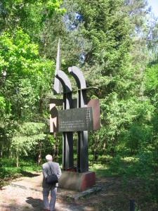 Przebrno Stutthof pomnik