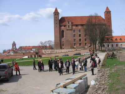 Zamek w Gniewie - zwiedzanie