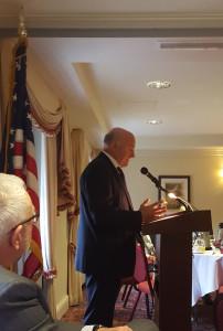 Paweł Olechnowicz w Waszyngtonie podczas seminarium Energy Allies