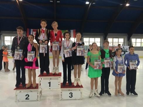 OL 1 O.Borowska-F.Bojanowski Mistrzostwa Polski Novice 2015