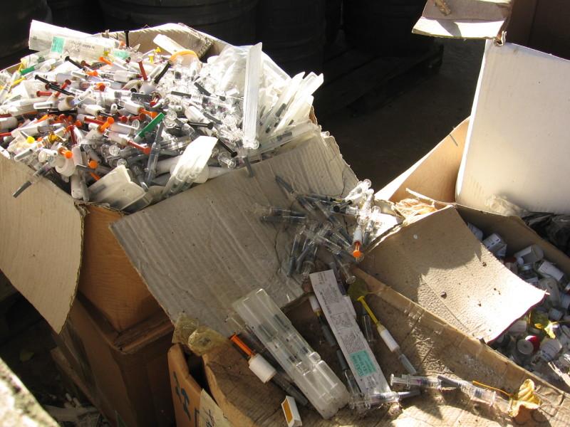 Odpady strzykawki II