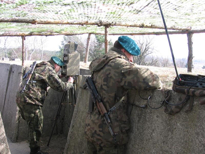Żołnierze na Górze Czarneckiego