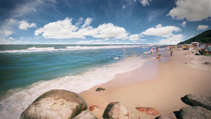 JG plaża i kamienie