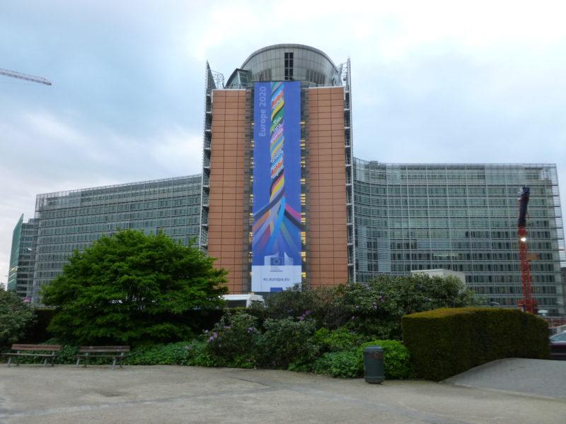 Komisja Europejska gmach 2020