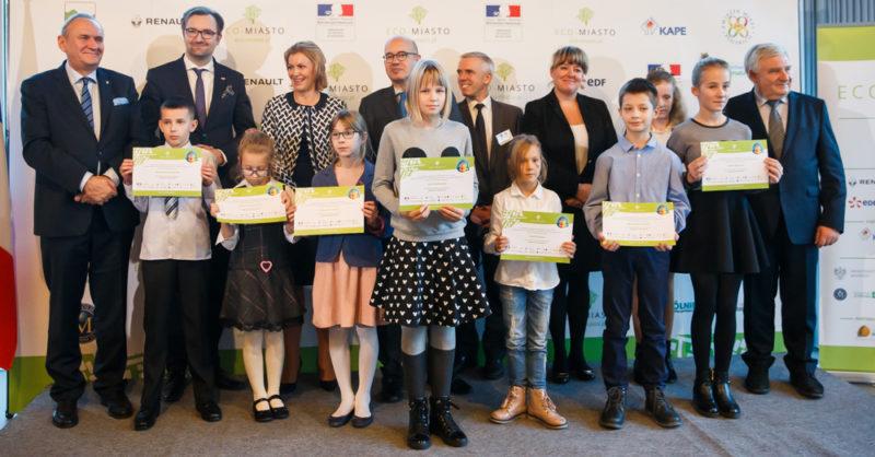 Warszawa. 08.11.2016 Gala wreczenia nagrod Eco Miasto w Ambasadzie Francji. Fot: Krystian Maj/FORUM